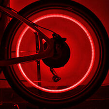 4* Red LED Dragonfly Wheel Tyre Tire Air Valve Stem Cap Light Lamp For Bike Car