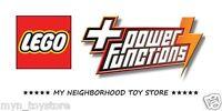 LEGO POWER FUNCTIONS™ - MOTORI VARI, VANI BATTERIE, LUCI LED, CAVI PROLUNGA etc.