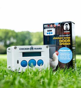ChickenGuard ASTi Premium Automatic Chicken Coop Door Opener - SALE!