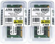 4GB 2 X 2GB DDR2 De Memória Ram Para Dell Latitude 5400 5500 6400 6500 Atg E6400 D830