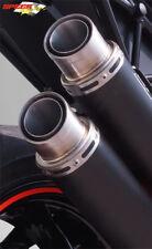 SILENCIEUX BODIS GPX2 INOX NOIR KTM 1290 SUPERDUKE R 2017/18 - KTSD1290-019