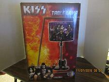 KISS AXE GUITAR TABLE LAMP New In Box  FREE SHIPPING USA!! ROCK BAND
