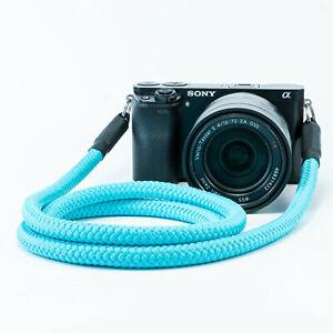 Kameragurt türkis - Schultergurt Kameraseil Tragegurt Photo Strap  turquoise