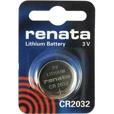 CR2032 Coin Battery Pack Renata 3V / for Watches Cameras Car Keys Torches