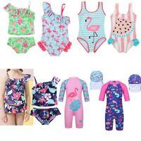 Toddler Kid Girls Floral Swimsuit Swimwear Bathing Suit Tankini Bikini Beachwear
