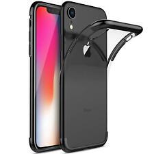 iPhone XR Hülle Schutzhülle Bumper Handy Tasche Slim Cover Case Schutz Folie