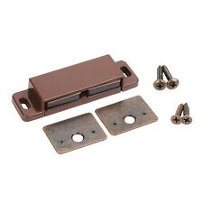Pack Of 2- (One Pair) 15lb Double Magnetic Catches Bronze/Brown-Shutter Hardware