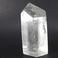 Quartz Crystal Natural Gemstone Polished Generator (EA7622) Healing