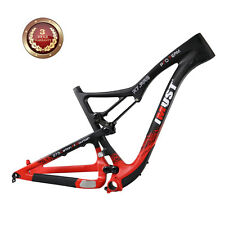 IMUST Carbon 650B 27.5er Mountaiin Bike Suspension Frame S7 17.5 inch BB92