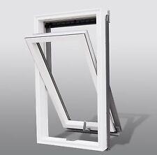 Dachfenster Kunststoff von Solstro 66 x 118, Schwingdachfenster + Eindeckrahmen