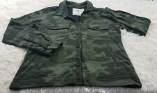 New O'Neill Women Botton Up Jacket Color ARMY Size Small.