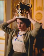 Claire Foy signed The Crown 8x10 photo