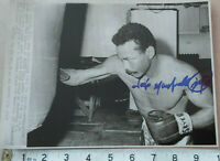 JOSE NAPOLES HAND SIGNED PRESS PHOTO  & COA - OFFERS ACCEPTED