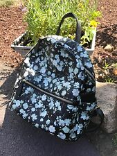 New! Flower- printed Emperia Backpack Style Bag!