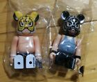 Medicom Bearbrick S34 Secret & Artist 34 DLE be@rbrick 100% Chase Set 2pcs