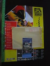Grand Prix Germany Poster & Pamphlet 1991 and envelope it came from {Germany}
