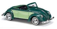 Busch 46714 HO (1/87): Volkswagen - Hebmüller Cabrio, groen/helgroen