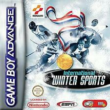 International Inverno Sport (ESPN) -- Konami -- GameBoy Advance -- USATO COME NUOVO!