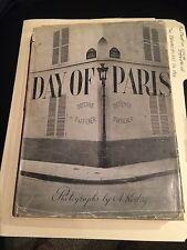 "BOOK ""DAY OF PARIS KERTESZ ANDRE,GEORGE DAVIS EDITOR ""1945"""
