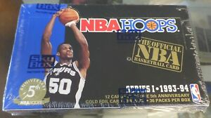 1993-94 Skybox NBA Hoops Basketball Series 1 Factory Sealed Box