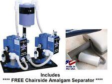 Dental Vacuum Pump Tech West Whirlwind Liquid (Wet) Ring Dual 4 User 2 HP 230V