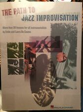 The Path to Jazz Improvisation Emile de Cosmo. Guitar piano bass sax songbook