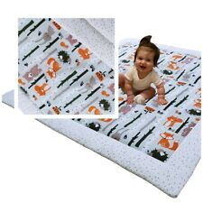 Krabbeldecke Decke Baby Spieldecke Babydecke Kinderdecke Patchwork 115x115cm