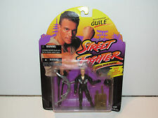 GI JOE 1994 STREET FIGHTER MOVIE NIGHTFIGHTER GUILE MOSC - HASBRO