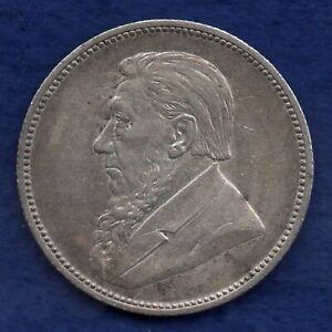 South Africa, 1896 2 Shillings, Better Grade (Ref. c8320)
