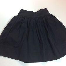 NWOT Reiss Essentials Nelly Dirndl Lined Black Mini Skirt SIze US 2