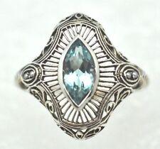 Anelli di lusso topazio Misura anello 16
