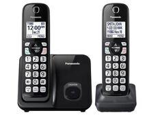 Panasonic KX-TGD512B Cordless Telephone w/ 2 Handsets - Black