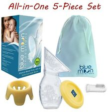 Silicone Manual Breast Pump | Haakaa Equivalent | Stand, Lid, Bag,Toothbrush Set