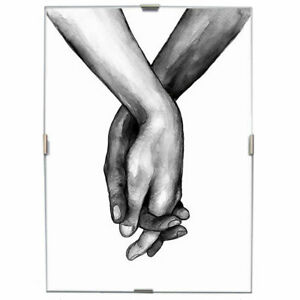 Cornice a Giorno 30x40cm in Crilex Cornici Portafoto Puzzle Poster Foto Stampe