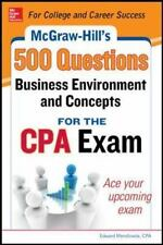 McGraw-Hill Education 500 Business Environment and Concepts Questions for the CP
