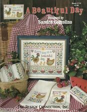 A Beautiful Day Sandra Cozzolino Design Connection #112 Cross Stitch Pattern NEW