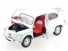 Seat Fiat 600D 1963 Light Green EDICOLA 1:24 SALRMIT001 Model