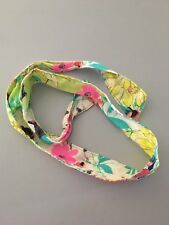 """Old Navy ~ Girl's Floral Fabric Belt ~ 46"""" ~ Cute!"""
