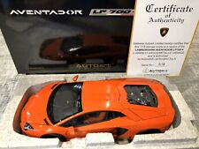 1:18 Lamborghini Aventador LP700-4 (Metallic Orange) AUTOart RARE BNIB COA
