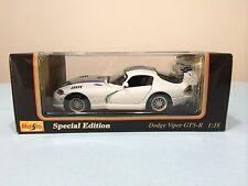"""Maisto """"Dodge Viper GTS-R Special Edition"""" (1997) Scale 1:18"""