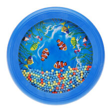 Ocean Wave Bead Drum Gentle Sea Sound Musical Educational Toy Tool for Baby A5A5