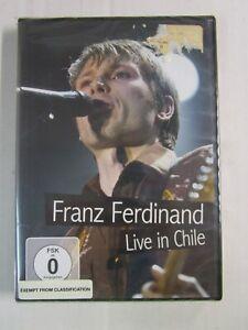 FRANZ FERDINAND Live In Chile DVD New! Sealed! REGION FREE 0 GERMANY IMPORT GEMA