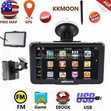 "NEW 7"" HD Car AUTO GPS Navi 4G Video Navigator US Canada Map &Pen E8G9"