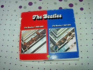 The Beatles - The Beatles 1962-1970 [Remastered] (4CD)  red blue