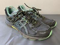 ASICS Gel-Venture 6 T7G7N Running Shoes Black Teal Sneakers Mesh Women's Size 12