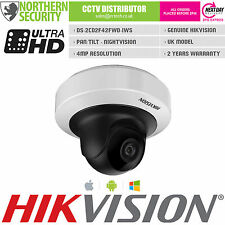 HIKVISION 4MP 2.8MM IR 1080P POE WIFI AUDIO MINI PT IP Network Security Camera