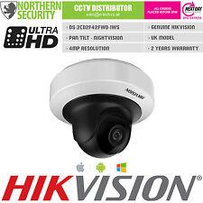 Hikvision 4MP 2.8 mm 1080P PoE IR WIFI Audio Mini PT Telecamera di sicurezza di rete IP