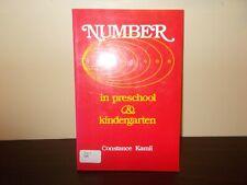 Number in Preschool and Kindergarten by Constance Kamii