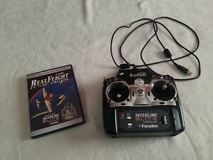 Real Flight R/C Simulator G4 Interlink Elite Controller & Disc 2007
