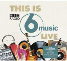 THIS IS BBC RADIO 6 MUSIC LIVE - V/A Inc Elbow Arcade Fire Killers 2CDs (NEW)